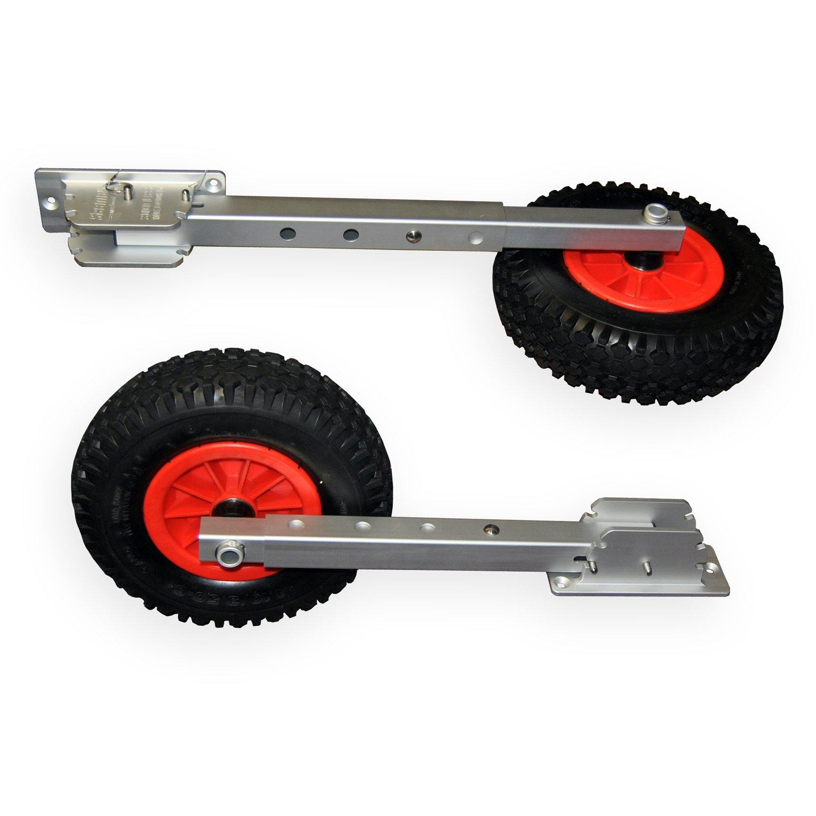 Jon Boat Launch Wheels : Seamax deluxe boat launching dolly with inches wheels