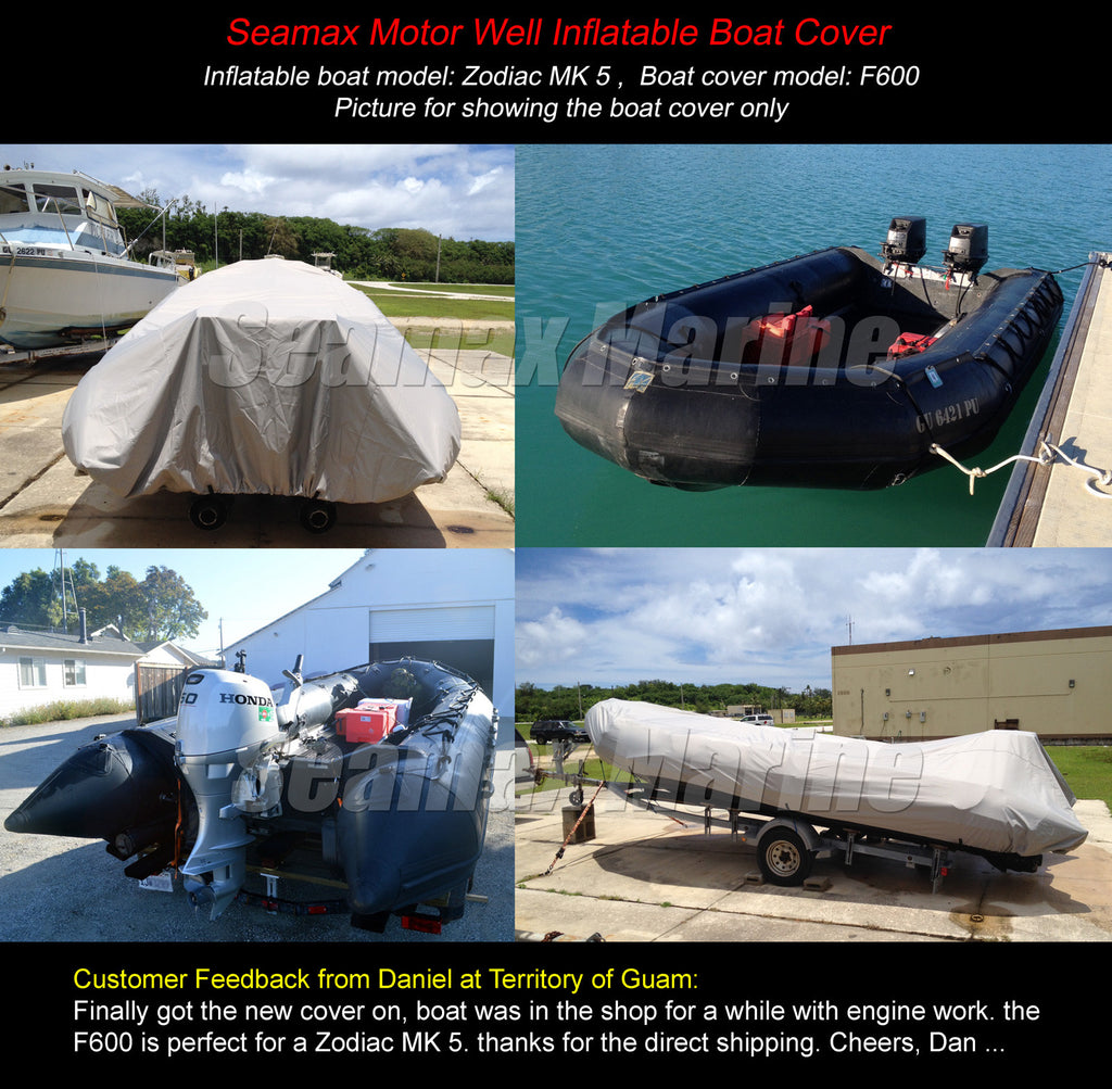 inflatable boat cover b series for beam 4 7 5 2ft 5 sizes fit