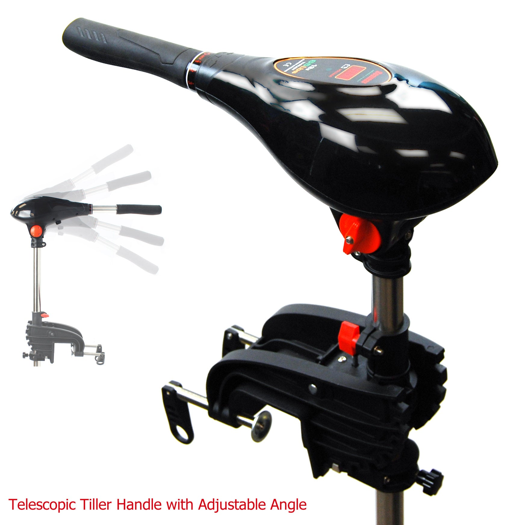 Seamax 12V SpeedMax Electric Trolling Motor With 32 Inches Shaft 55 To 65 Lbs Thrust