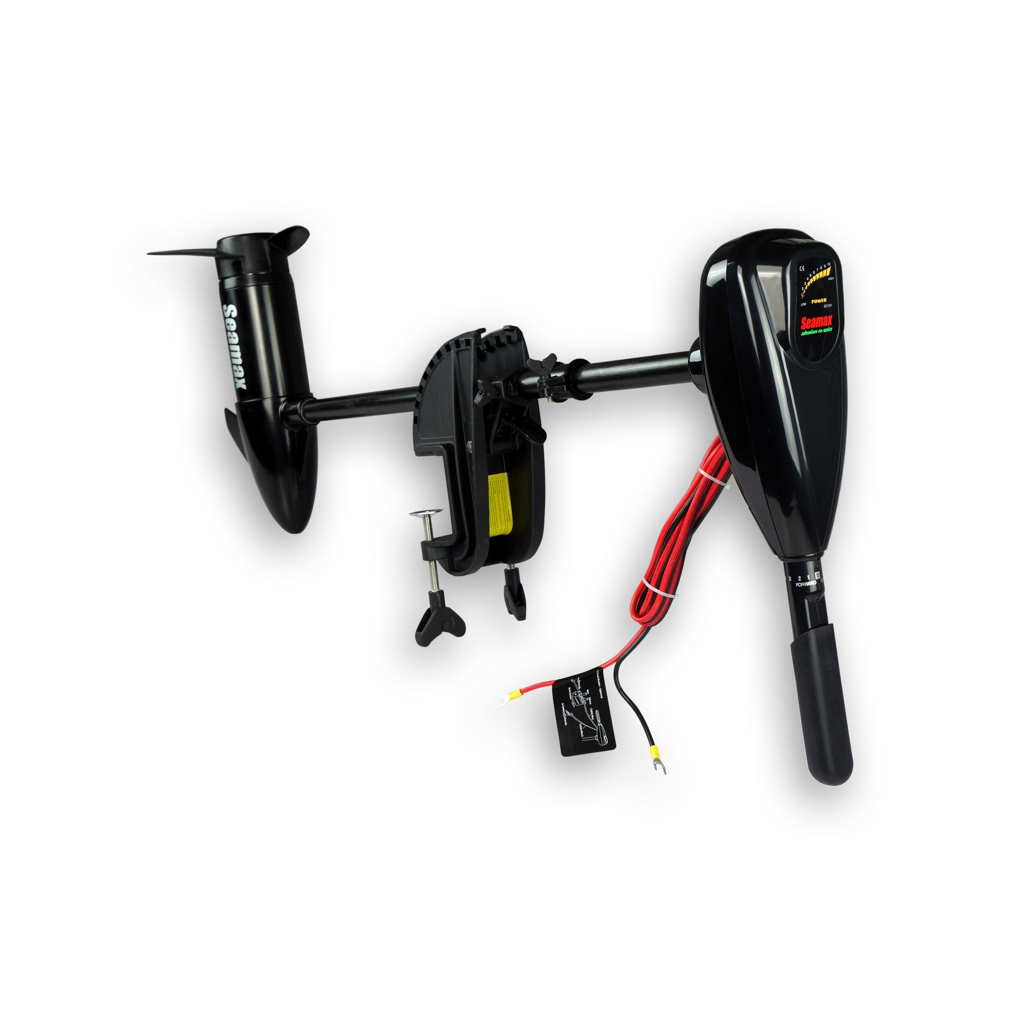 Motors seamax marine for 30 lb thrust trolling motor speed