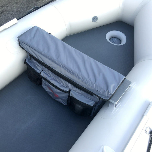 Bench Seat Cushion With Detachable Under Seat Storage Bag