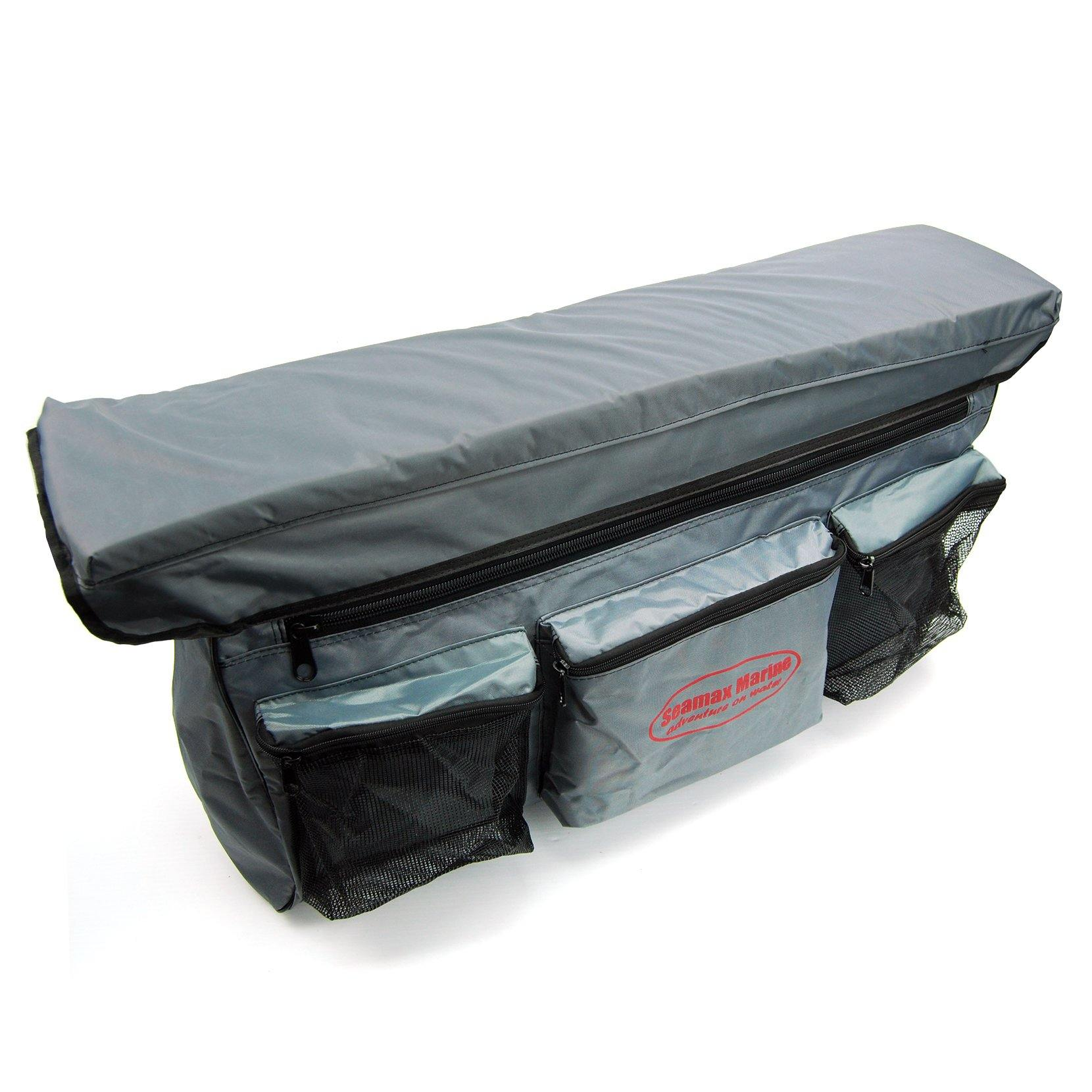 Beau ... Bench Seat Cushion With Detachable Under Seat Storage Bag For All  Inflatable Boats   Seamax Marine ...