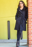 Black Cashmere coat by De Novo