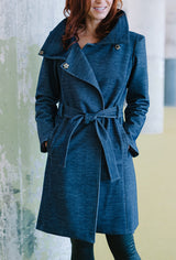 Womens trench raincoat