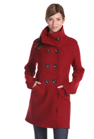CAR COAT TRENCH RUBY