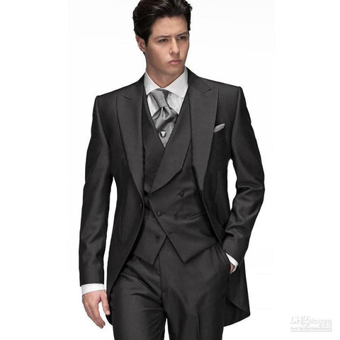 2017 New Modern Men's Dress Suits, Tuxedos 3 Pieces - almaj A touch of Class