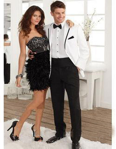 New Arrival 2017 Tuxedos Formal Dress (jacket+pants+tie) - almaj A touch of Class