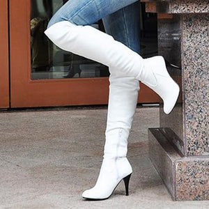Women Boots High Heels Boots Over Knee - almaj A touch of Class - 1