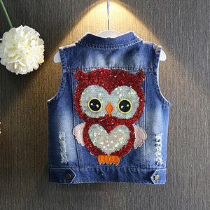 Kids Talesrs Denim Vest