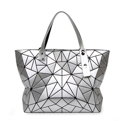 Top-handle Bags Geometric Plaid Luxury Handbags