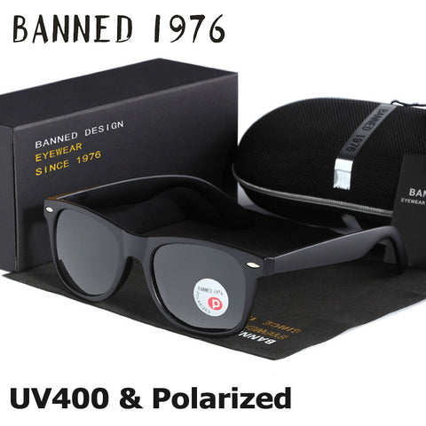 Banned 1976 HD Polarized UV400 Sunglasses