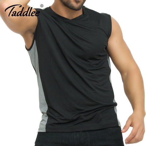 Men Fitness Singlet Active-wear t-shirts