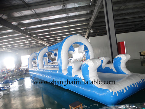 PVC commercial grade inflatable slip/customized