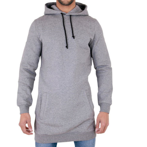 2017 New Long-line Hoodies Sweatshirt Pullover