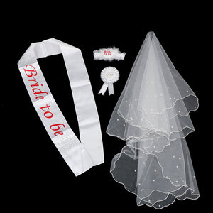 1 Set Bride Bachelorette Party Gifts Bride To Be Decor
