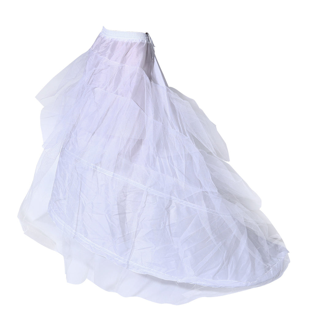 Crinoline Wedding Petticoat Ballgown Double Layer Yarn