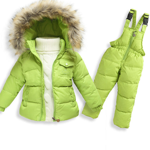 Boys/Girls Duck Down Jacket Coat + Jumpsuit - almaj A touch of Class - 1
