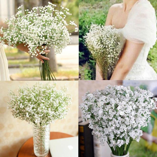 Artificial Gypsophila Flower Silk Wedding Bouquet /Home Decor