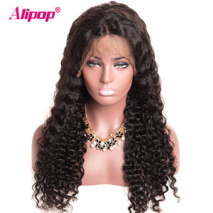 Brazilian Deep Wave Lace Front Human Hair W/Baby Hair