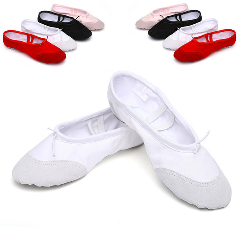 Canvas Flat Slippers Ballet Shoes