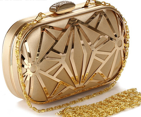 New Arrival!! Vintage high-grade  GOLD CLUTCH - almaj A touch of Class - 1