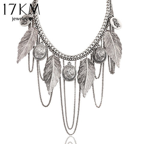 17KM New Design Charm choker necklace
