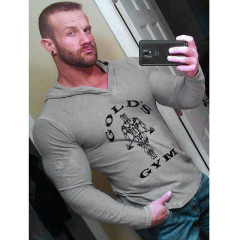 Golds Gym, Bodybuilding Hoodies - almaj A touch of Class - 1