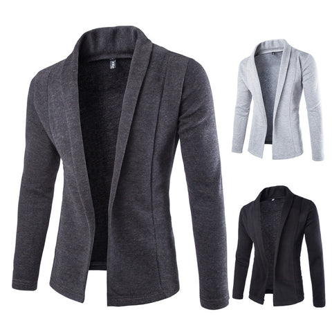 Casual Business Men's Cardigan - almajvirtualsolutions - A touch of Class