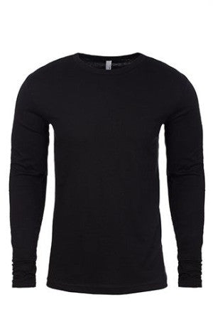 Next Level 3601 Premium Fitted Long Sleeve Crew with TearAway Label - almaj A touch of Class