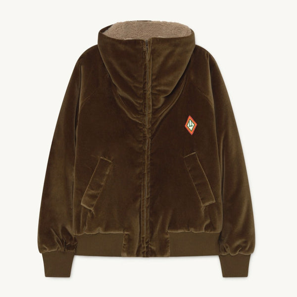 THE ANIMALS OBSERVATORY - Tiger Padded Fleece Jacket
