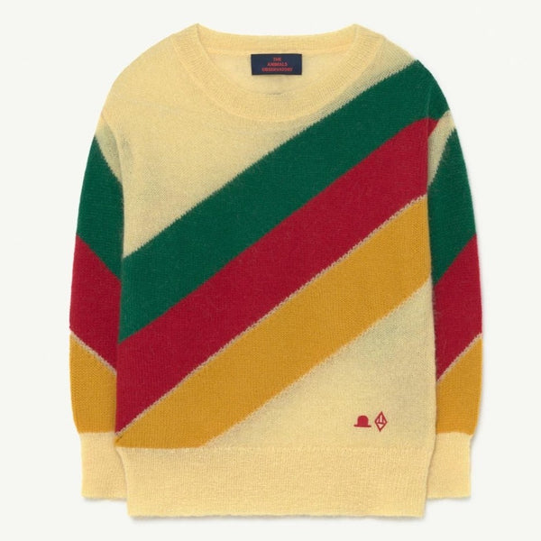 THE ANIMALS OBSERVATORY - Stripes Bull Sweater