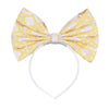 HUCKLEBONES - Giant Bow Headband