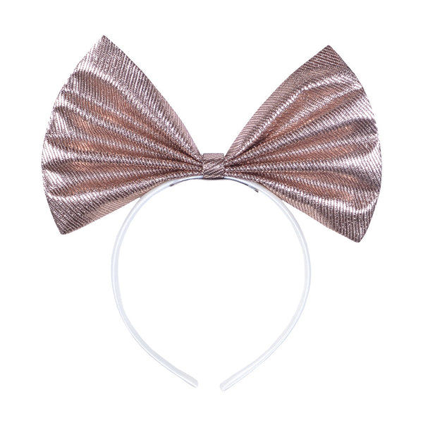 HUCKLEBONES - Giant Bow Hairband