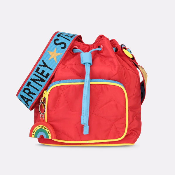 STELLA MCCARTNEY KIDS - Quilted Stars Bucket Bag