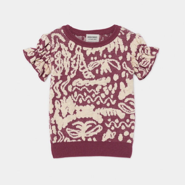 BOBO CHOSES - Short Sleeve Jumper