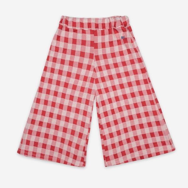 BOBO CHOSES - Vichy Culotte Trousers