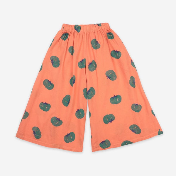 BOBO CHOSES - Tomatoes All Over Woven Culotte Trousers