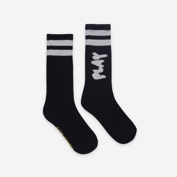 BOBO CHOSES - Play Long Socks - BLACK