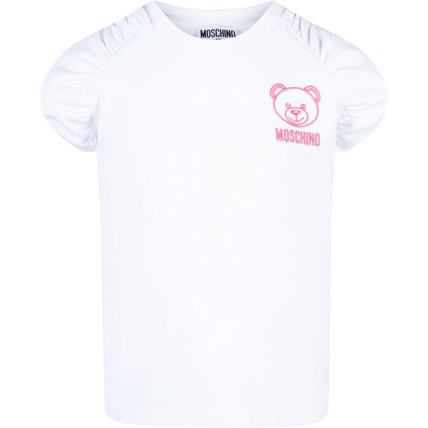 MOSCHINO -  Teddy Bear Logo Tee