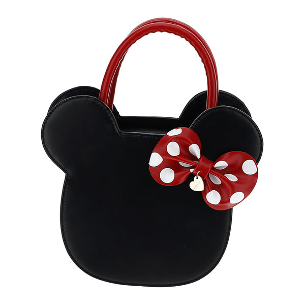 "MONNALISA - ""Minnie Mouse"" Faux Leather Handbag"