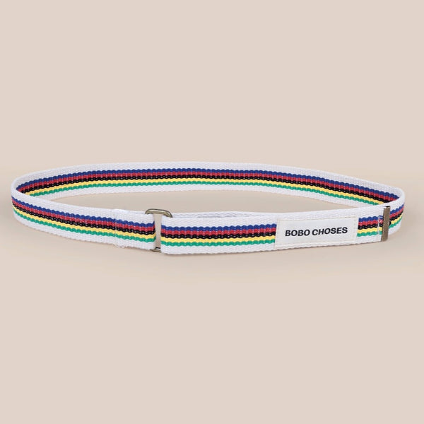 "BOBO CHOSES -""Catalogue of Marvelous Trades"" - Striped Belt"