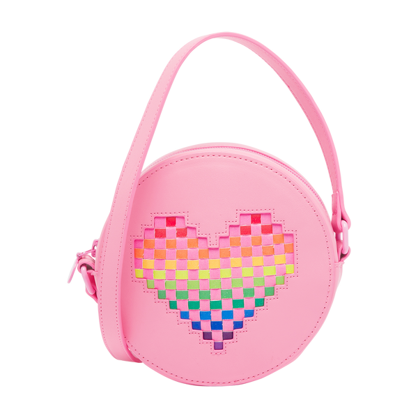 STELLA MCCARTNEY KIDS - Heart Shoulder Bag