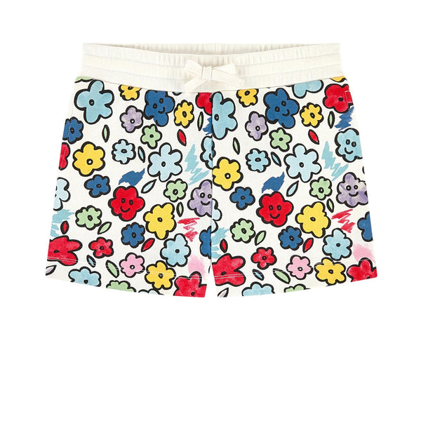 STELLA MCCARTNEY KIDS - Smiling Flowers Shorts