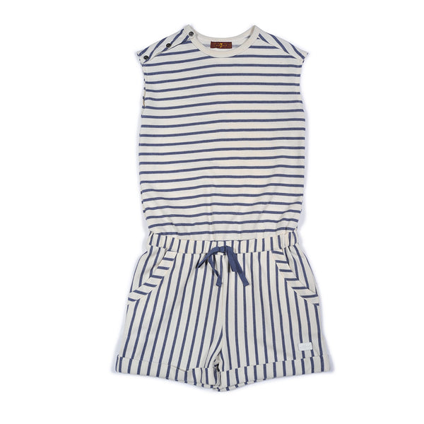 7 FOR ALL MANKIND - Striped Romper