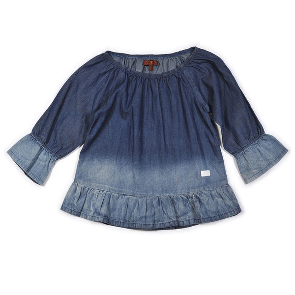 7 FOR ALL MANKIND - Ruffle Top
