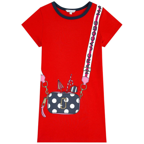 LITTLE MARC JACOBS - Trompe L'oeil Illustration Dress