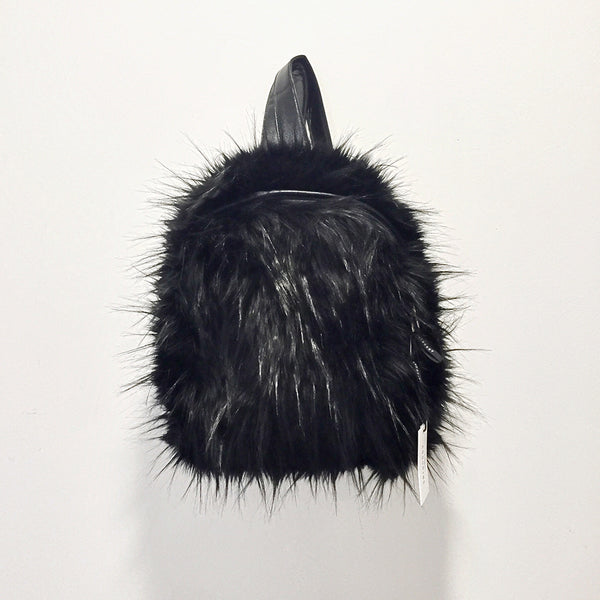 ANDORINE - Faux Fur Backpack
