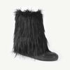 ANDORINE - Faux Fur Leather Boots
