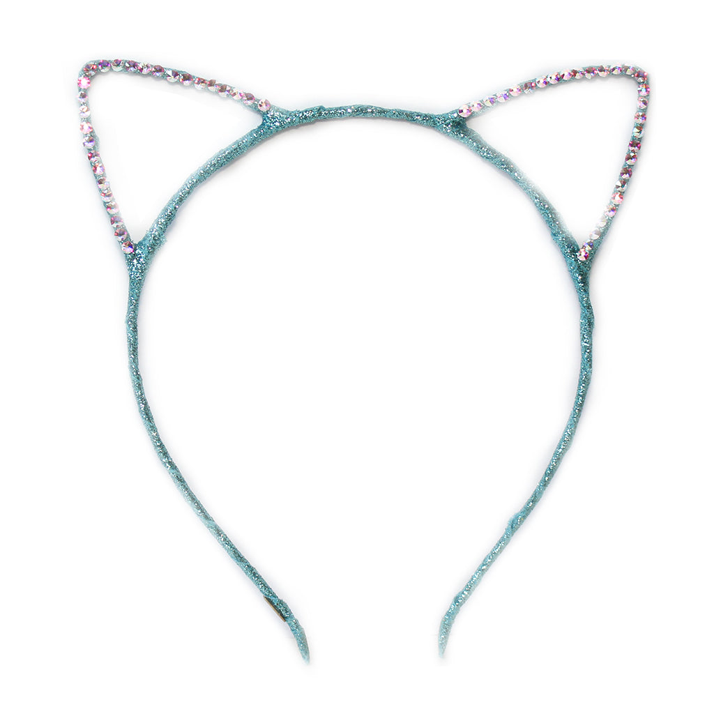 BARI LYNN - Crystal Cat Ears Headband