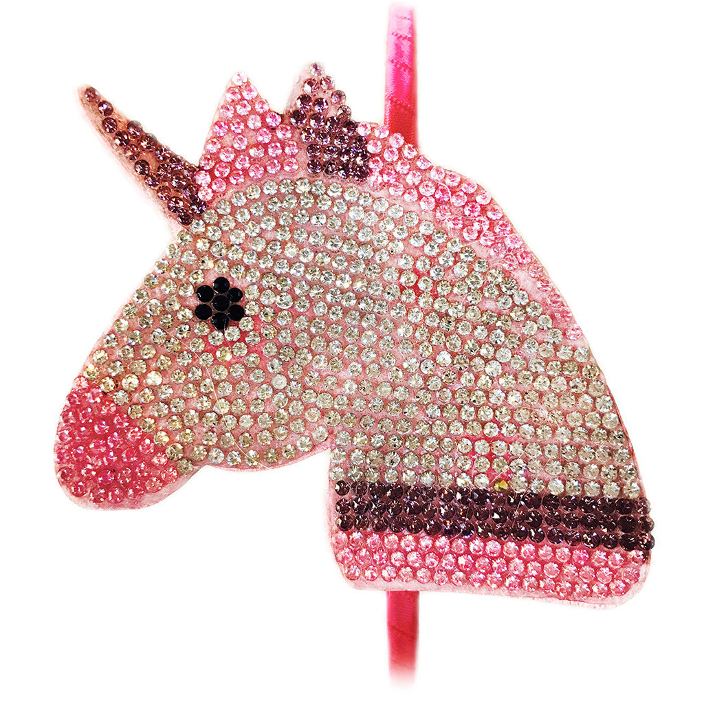 BARI LYNN - Crystal Unicorn Headband